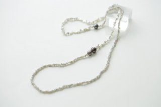 Two faced long necklace ダブルフェイスロングネックレス