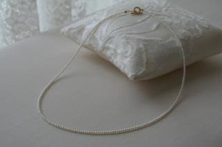 Top in Keshi necklace トップイン ケシパールネックレス(丸)