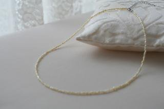 Keshi pearl simple ケシパール シンプルネックレス