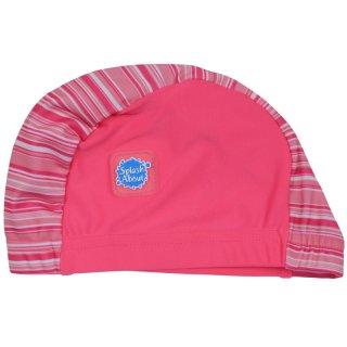 スイムキャップ / Pink Candy Stripe
