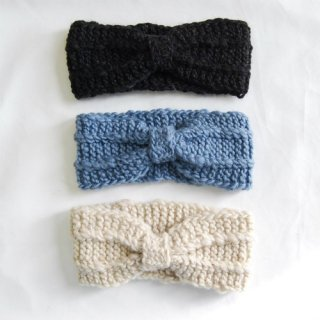 <img class='new_mark_img1' src='//img.shop-pro.jp/img/new/icons23.gif' style='border:none;display:inline;margin:0px;padding:0px;width:auto;' />Knit Turban Hairband