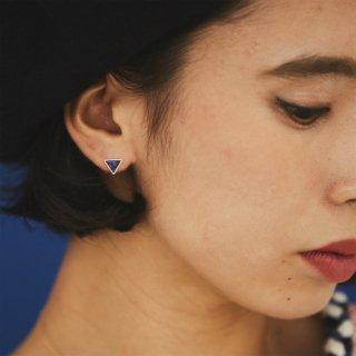 Triangle Earring Lapislazuli