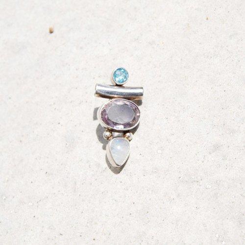 Vintage  Mix stone Pendant