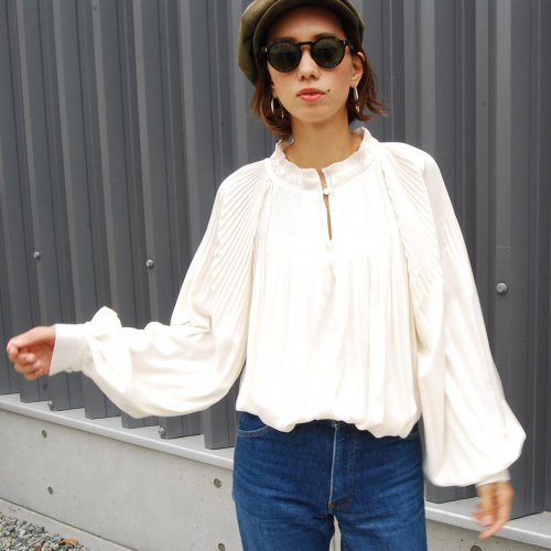 Gather Blouse _White