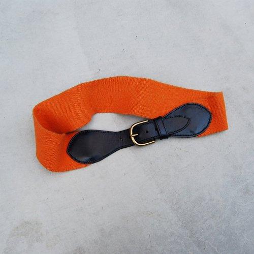 _Orange Rubber Belt