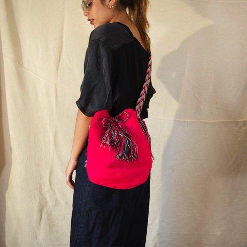 wayuu bag (Pink)