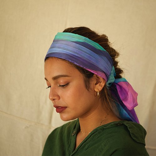 <img class='new_mark_img1' src='https://img.shop-pro.jp/img/new/icons23.gif' style='border:none;display:inline;margin:0px;padding:0px;width:auto;' />Remake Scarf Tie Hairband