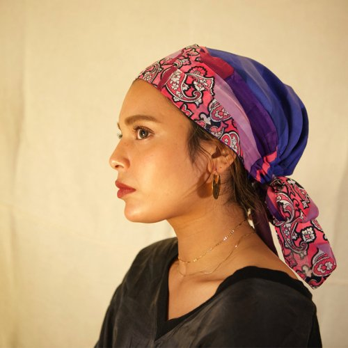 <img class='new_mark_img1' src='https://img.shop-pro.jp/img/new/icons23.gif' style='border:none;display:inline;margin:0px;padding:0px;width:auto;' />Remake Scarf Turban