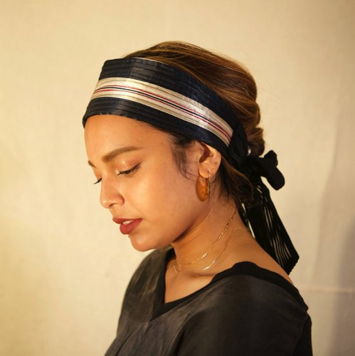 <img class='new_mark_img1' src='https://img.shop-pro.jp/img/new/icons23.gif' style='border:none;display:inline;margin:0px;padding:0px;width:auto;' />Pajama Remake Tie Hairband