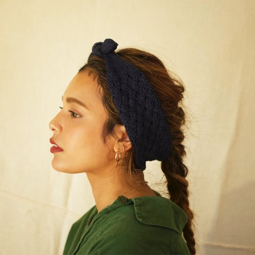 <img class='new_mark_img1' src='https://img.shop-pro.jp/img/new/icons23.gif' style='border:none;display:inline;margin:0px;padding:0px;width:auto;' />Cotton Knit Ribon Hairband