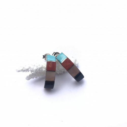 Naturalstone Inlay Earring