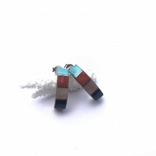 Naturalstone Inlay Earring
