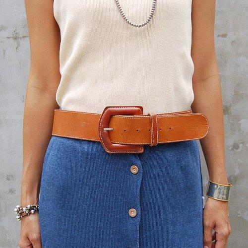 Vintage Lether Belt_1