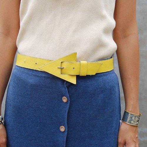 Vintage Lether Belt_9