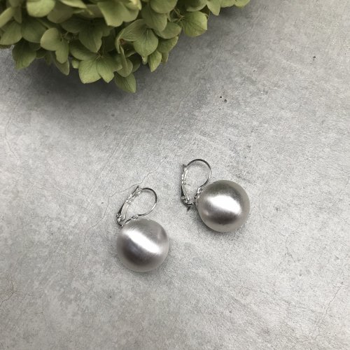 Swing Ball Earrin (silver)