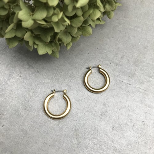 Gold Color Foop Earring