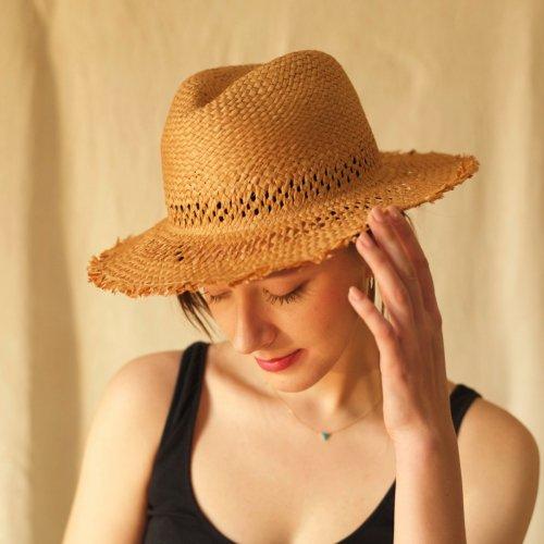 Hinoki Paper short Fringe Hat