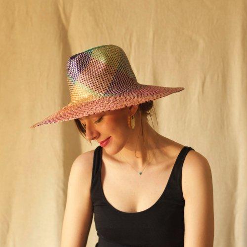 Colorful Buntal Hat