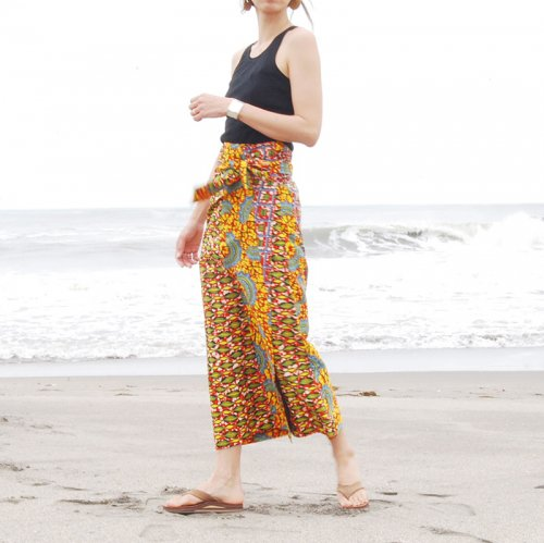 Pagne Wrap Skirt_wine1