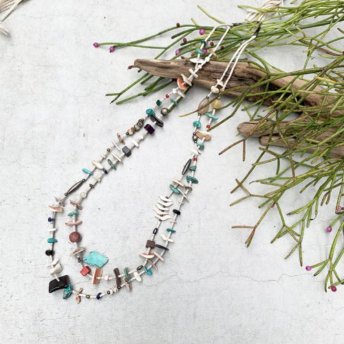 Native American Shell Beads Necklace