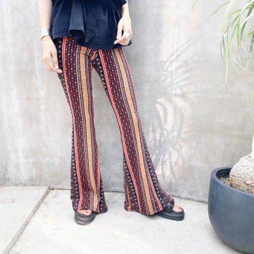 Bohemian Flare Pants A
