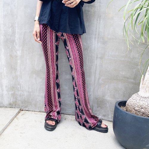 Bohemian Flare Pants B