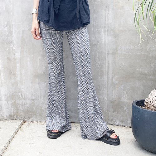 Bohemian Flare Pants C