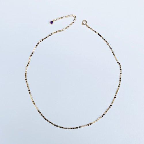 【予約】K18 Double Petal Choker Necklace