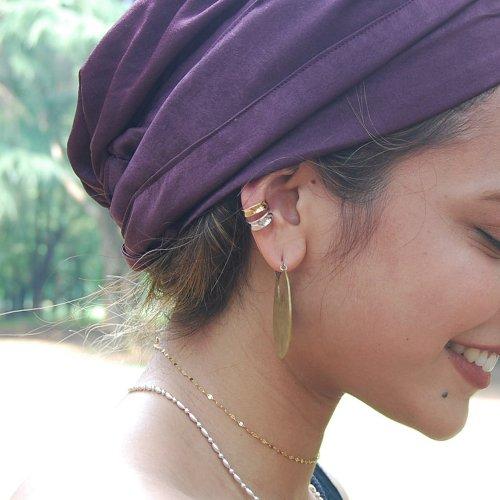 Bicolor Ear cuff