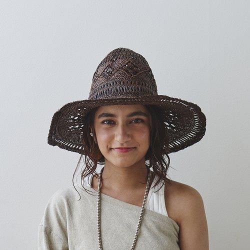 Diamond Lace Tulip Hat