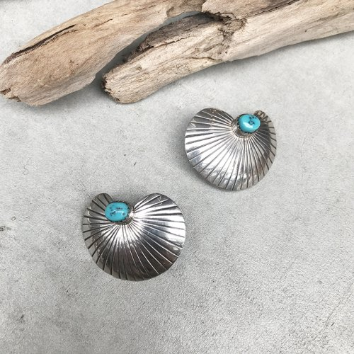 Trquoise Concho Earring