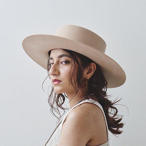 Felt Flat Hat