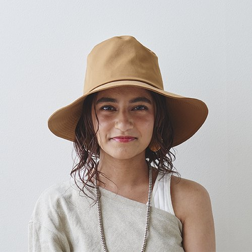 【予約 送料無料】Stitch Satin  Hat