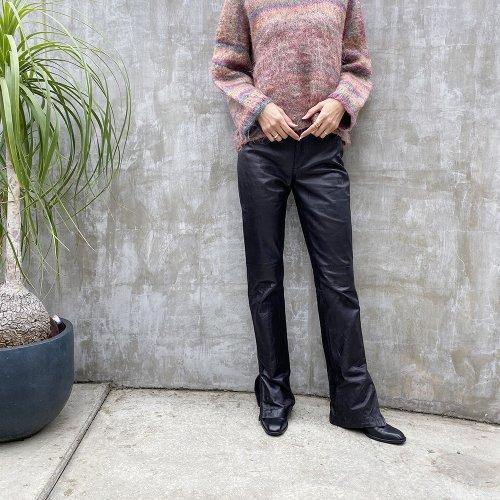 RALPH LAUREN SPORT leather Pants