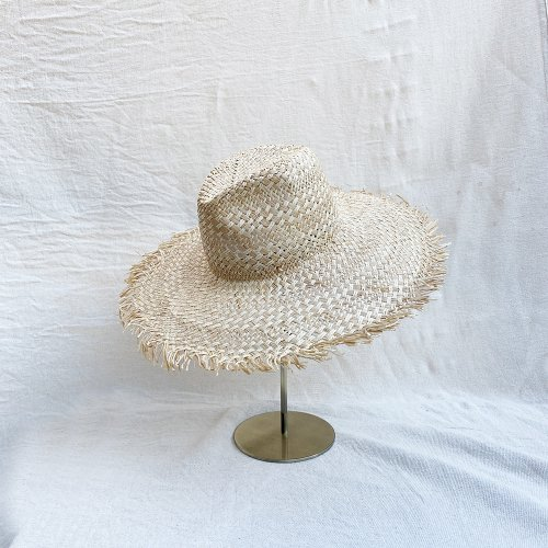 <img class='new_mark_img1' src='https://img.shop-pro.jp/img/new/icons14.gif' style='border:none;display:inline;margin:0px;padding:0px;width:auto;' />Raffia Paper mix Hat (Natural)