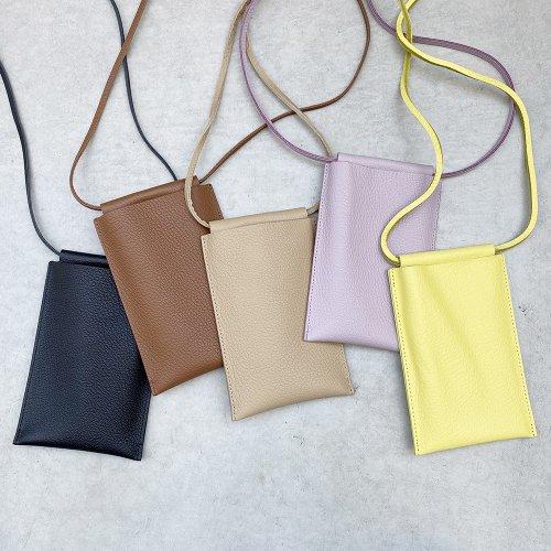 Cow leather Smartphone Pochette
