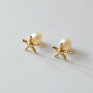 <img class='new_mark_img1' src='//img.shop-pro.jp/img/new/icons23.gif' style='border:none;display:inline;margin:0px;padding:0px;width:auto;' />Starfish Earring