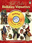 Full-Color Holiday Vignettes CD-ROM and Book(特価品)