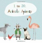 Katie Viggers: 1 to 20, Animals Aplenty(特価品)