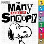The Many Faces of Snoopy (Peanuts)(特価品)