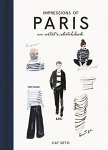 Cat Seto: Impressions of Paris, An Artist's Sketchbook(特価本)