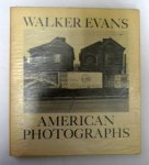 Walker Evans: American Photographs(古書)