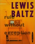 Lewis Baltz: Rule Without Exception(古書)