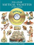 Full-Color Nautical Vignettes CD-ROM and Book(特価品)