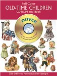 Full-Color Old-Time Children CD-ROM and Book(特価品)