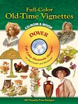 Full-Color Old-Time Vignettes CD-ROM and Book(特価品)