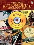 Vintage Automobile Ads and Posters CD-ROM and Book(特価品)