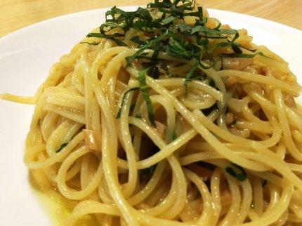 大葉のスパゲティ