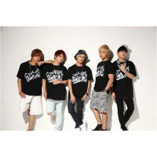 GET REAL VOL.2 Tシャツ(Da-iCE全メンバーブラックVer.)