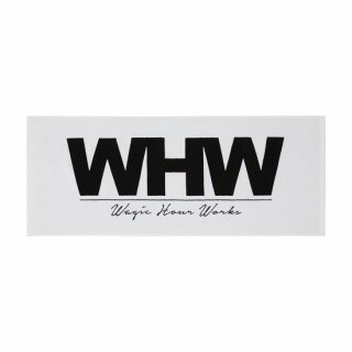WHW Face Towel WHITE